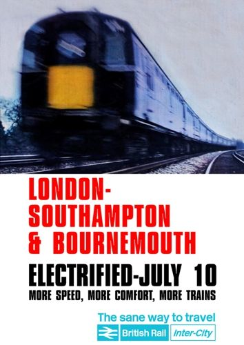 Bournemouth Electrification Reproduction Poster